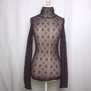 Free People Intimately Sheer Lace Top ( Size: S)